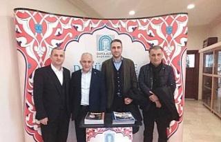 DTSO Başkanı Şahin, Darülaceze'de Düzce'yi...