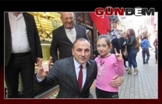 EREĞLİ'YE ŞEKER BAŞKAN..