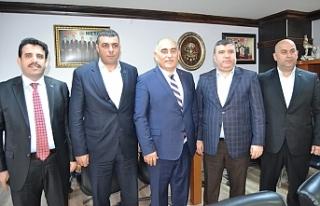 Erol Şahin Türk Metal'i ziyaret etti