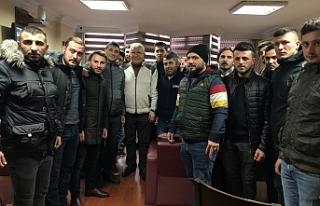 Halil Posbıyık'a sevgi seli...
