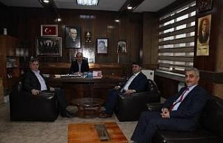 Başkan Aydın'dan Mutlu'ya ziyaret