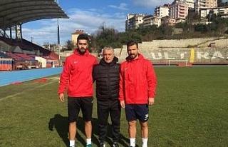 Kömürspor'dan 2 yeni transfer