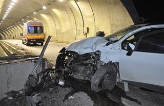 Sapça'da kaza... Çok sayıda yaralı var...