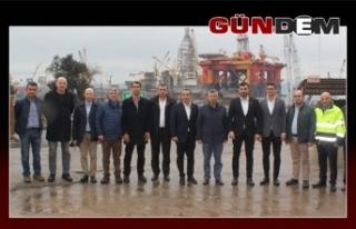 Vali Erdoğan Bektaş'tan GEMİNSANDER'e ziyaret