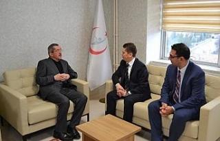 Vergili İl Sağlık Müdürü Dr. Ahmet Sarı ile...