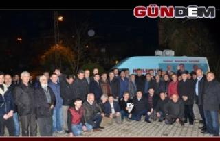 AK Parti İl Genel Meclis Adayları gece gündüz...