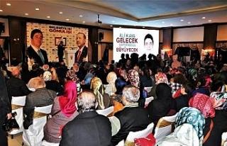 AK Partili aday Ali Kaya'nın proje tanıtımına...