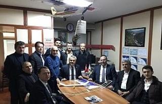 AK Partili vekiller Uysal için destek istedi