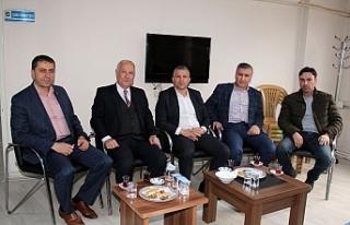 Akdemir'den GMİS Üzülmez Şubesi'ne veda ziyareti