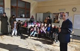 Anaokulu öğrencileri itfaiyeyi gezdi