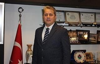 Bölge başkanı Taşlı Çanakkale Zaferini kutladı