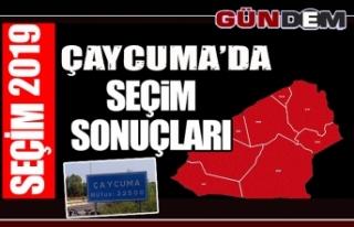 Çaycuma'da 31 Mart Yerel Seçimi'ni kazanan isim...
