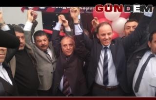 CHP Soğuksu Seçim Bürosu açıldı