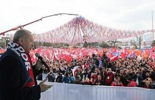 """Erdoğan: """"Milli İradenin tecelli ettiği yer..."""
