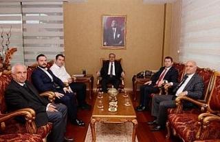 Düzce bilim ve teknoloji komisyonu Mersin'de incelemelerde...