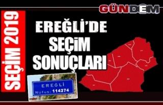 Ereğli'de 31 Mart Yerel Seçimi'ni kazanan isim...