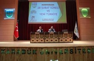 KBÜ'de '28 Şubat Süreci ve Yeni Türkiye'...