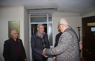 Posbıyık'tan Akar'a ziyaret