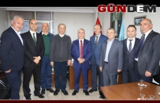 Şanal'dan Türk Ocağı'na ziyaret