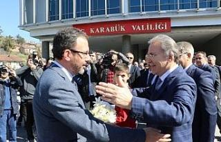 """Spor Bakanı Kasapoğlu: """"Cumhurbaşkanımızı..."""