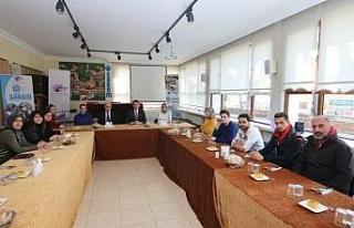 Ürkmezer belediye personelleri ile yemekte buluştu