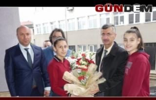 Vali Bektaş, Gazi Mustafa Kemal Ortaokulu'nda