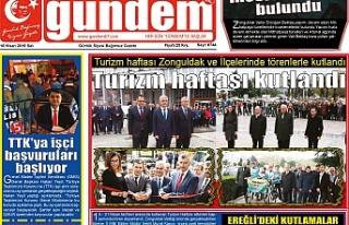 16 Nisan 2019 Salı Gündem Gazetesi