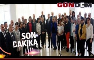 Adliye personeline, Bakan Gül'den teşekkür belgesi