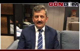 AK Parti İl Başkanı Zeki Tosun Berat Kandilini...