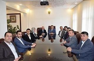 AK Parti Teşkilatından belediye başkanlarına destek