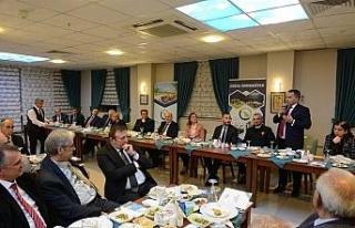 Düzce Üniversitesi İlk Danışma Kurulu toplantısını...