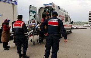 Gelin almada havaya açılan ateşle bir kişi yaralandı