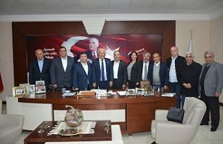 Harun Akın'dan Halil Posbıyık'a ziyaret