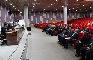 Karabük Belediyesi yeni dönem ilk meclis toplantısını...