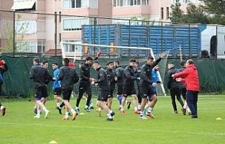 Karabükspor'da Gençlerbirliği maçı hazırlıkları...