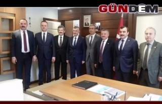 Zonguldak heyetinden Ankara'ya 'Hizmet'...