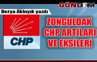 ZONGULDAK CHP ARTILARI VE EKSİLERİ
