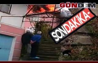 Zonguldak'ta Yangın!..