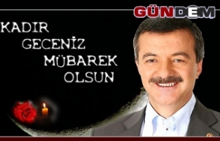 AK Parti Milletvekili Polat Türkmen Kadir Gecesini...