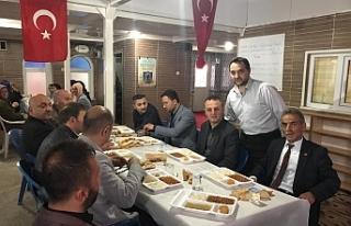 Alan, iftar programına katıldı