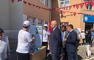 Alaplı'da öğrenciler projelerini sergiledi!..