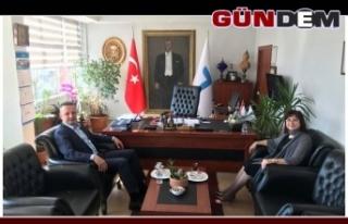 Başkan Alan'dan Demirsu'ya ziyaret!..