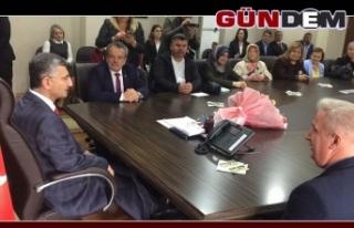 Başkan Şirin, Vali Bektaş'tan yeni yer talep...