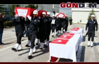 Biri Zonguldaklı iki şehit polis memleketlerine...