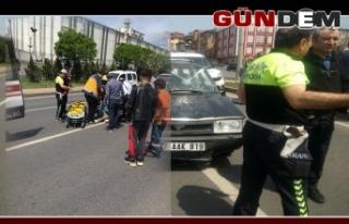 Ereğli'de Kaza, 3'ü çocuk 5 kişi yaralandı.