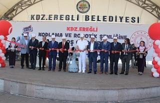 EREĞLİ'DE KODLAMA VE ROBOTİK ŞENLİĞİ!..