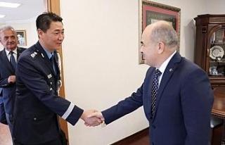 Güney Kore Hava Ateşesi Dağlı'yı ziyaret etti