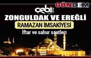 İşte Zonguldak ve Ereğli Ramazan İmsakiyesi 2019