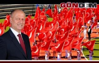 Kaymakam Çorumluoğlu'ndan 19 Mayıs kutlama...