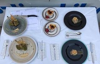 KBÜ aşçılık öğrencileri, Uluslararası Gastronomi...